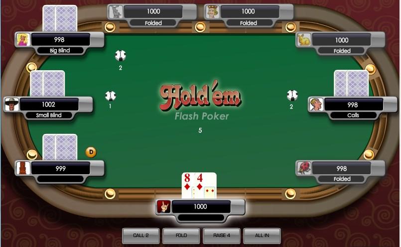 покер онлайн флеш